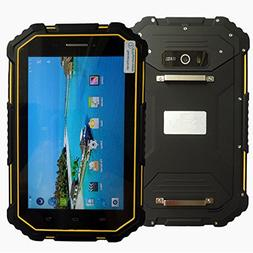 Hipipooo Rugged Tablet IP67 7.0 Inch Android 6.0 CPU MTK6735