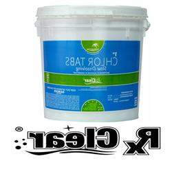 """Rx Clear 1"""" Stabilized Swimming Pool Chlorine Tablets"""