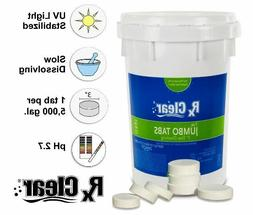 """Rx Clear 3"""" Stabilized Swimming Pool Chlorine Tablets"""