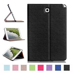 Samsung Galaxy Tab A 8.0 Case,Leather Stand Case Folio Cover
