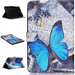 Samsung SM-T560 Case,Leather Case for Samsung Tab E9.6 Table