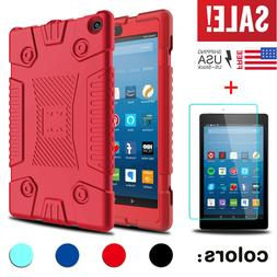 Screen Protector+ Tablet Armor Case Cover For Amazon All-New