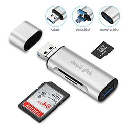 Jelly Comb SD and Micro SD Card Reader PC, OTG Tablets, Andr