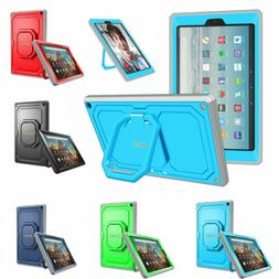 Fintie Shockproof Case Stand Cover For Amazon Fire HD 10 201