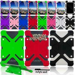 Shockproof Silicone Stand Cover Case For Google Nexus 7 TABL