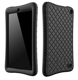 Bear Motion Silicone Case for All-New Fire 7 Tablet with Ale