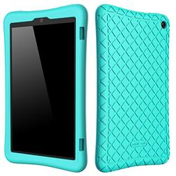 Bear Motion Silicone Case for Fire HD 8 2017 - Anti Slip Sho