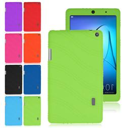 Silicone Rubber Soft Cases Cover Skin For Huawei MediaPad T3