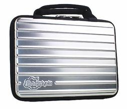 "Silver Hard Shell PET Case with Zipper for 7"", 9"" 10"" or 10."