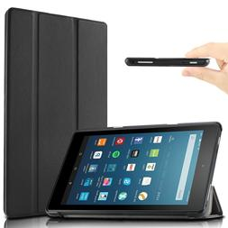 Infiland Slim Stand Case Cover For All-New Amazon Fire HD 8