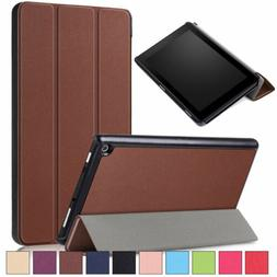 Smart Leather Tablet Case Cover For Amazon Kindle Fire HD 8