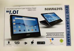 "Sylvania Smart Tablet DVD Player 10.1"" Android Tablet 2 IN 1"