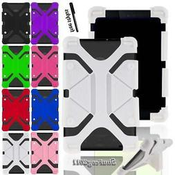 Soft Silicone Shockproof Stand Cover Case For RCA 7 Voyager