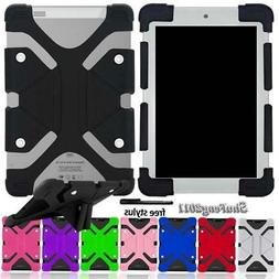 """Soft Silicone Shockproof Stand Cover Case For 7"""" Verizon Ell"""