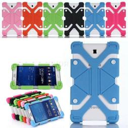 "Soft Silicone Shockproof Stand Cover Case For Various 8"" AT&"