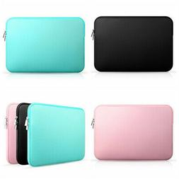 Soft Sleeve Bag Case Zipper Pouch Laptop Tablet For 11/13/15