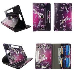 """Sparkly Butterfly tablet case 10 inch for RCA Pro 10"""" 10 inc"""