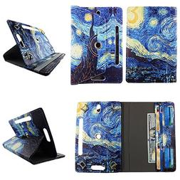 "Starry Night tablet case 10 inch for RCA Pro 10"" 10inch andr"