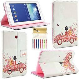 Tablet Accessories Galaxy 4 7.0  Case, Dteck Bling Diamond D