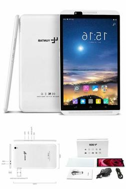 Tablet Android Unlocked 4G Phone with Dual Sim Card Slots 8-