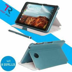 Verizon Tablet Case,Screen Protector & Stylus Pen For Ellips