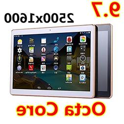 9.7 inch Tablet 2560X1600 IPS Octa Core RAM 4GB ROM 64GB 8.0