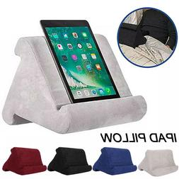 Tablet Pillow Holder Stand Book Bed Sofa Couch Reading Suppo