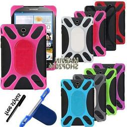 Tablet Shockproof Soft Silicone Stand Cover Case For Lenovo