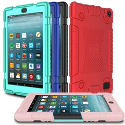Tablet Soft Silicone Kids Case For Amazon Kindle Fire HD 8 8