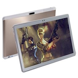 10.1 Inch Tablet PC Unlocked 3G Phone, Android 7.0 GPS Octa