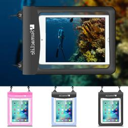 """Tablet Waterproof Pouch Dry Bag Case For 10.5"""" iPad Air / Sa"""