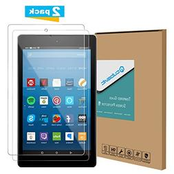 Tempered Glass Screen Protector for Amazon All-New Fire HD 8