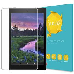 Fintie Tempered Glass Screen Protector for Amazon Fire HD 8