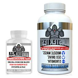Testosterone Booster Monster Test 6000mg  plus Monster Male