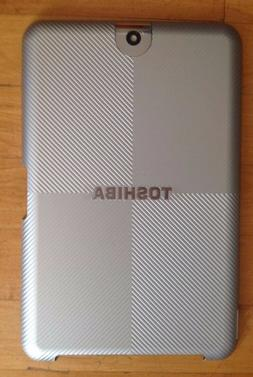 Toshiba Thrive Colored Back Cover for 10.1 Tablet - Silver S