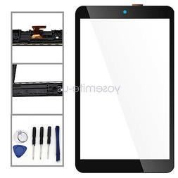 "Touch Glass Screen Digitizer + Frame For Alcatel 3T 8"" Table"