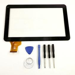 """Touch Screen Digitizer Panel glass for 10.1"""" inch Dragon Tou"""