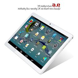 Kivors 3G Touch Tablet 9.6 Inch - Android 5.1-1G RAM + 16GB