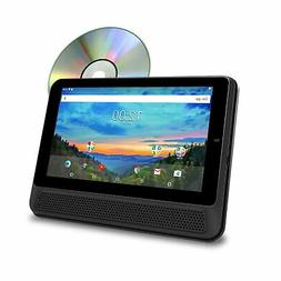 """RCA 10"""" Touchscreen Tablet PC/DVD Combo Featuring Android 6."""
