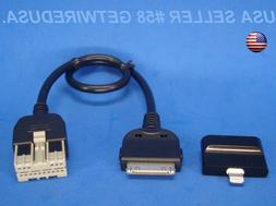 TOYOTA SCION iPOD i PAD iPHONE 7 6 5s 5c 5 AUX INPUT CABLE X