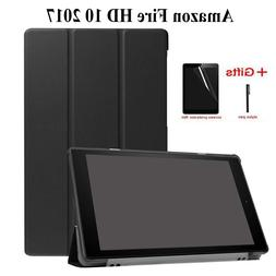 Ultra Slim Magnetic Stand PU Leather Case for Amazon <font><