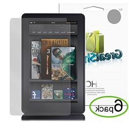GreatShield Ultra Smooth Clear Screen Protector Film for Ama