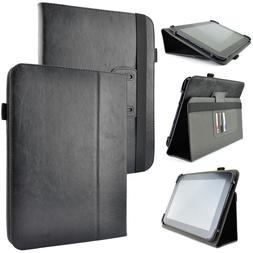 Kozmicc Universal Adjustable Folio Flip Stand Case Cover For