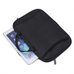 Universal Black Neoprene Zippered Carrying Sleeve Case Bag f