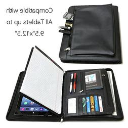 Universal Business Leather Portfolio for all tablets up to 9