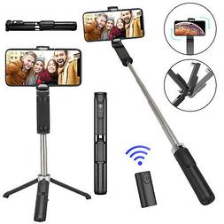 3 in 1 Wireless Bluetooth Selfie Stick Tripod Extendable Rem