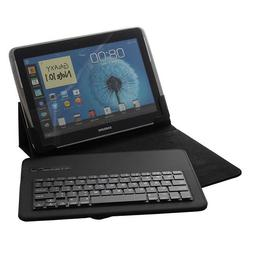 Universal Removable Bluetooth Keyboard Folio Case Cover For