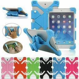 Universal Shockproof Soft Silicone Stand Cover Case For Andr
