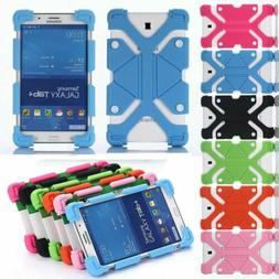 Universal Soft Silicone Shockproof Stand Cover Case For Vari