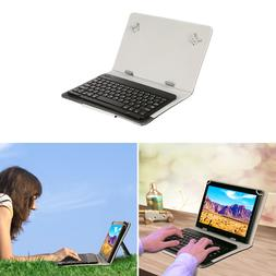 Bluetooth or USB Keyboard Cases for Android Tablet 8'' 9'' 1